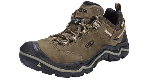 Keen Wanderer WP Shoes Women Dark Earth/Brindle
